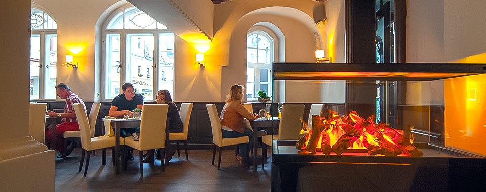 Im Restaurant »De Gute Stub'«, Foto: Marko Lorenz
